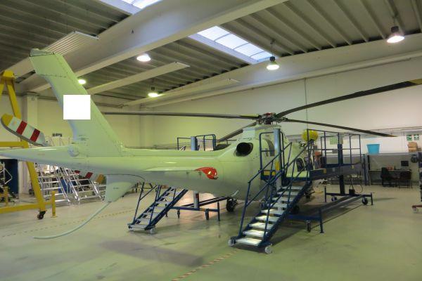 Scalificio Clerici s.n.c. - nuovo prodotto inserito! Piattaforma aerea per manutenzione elicotteri!