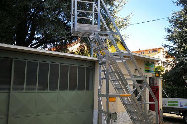 Scalificio Clerici s.n.c. - Nuovo prodotto inserito! Scala per ispezione cisterne!!