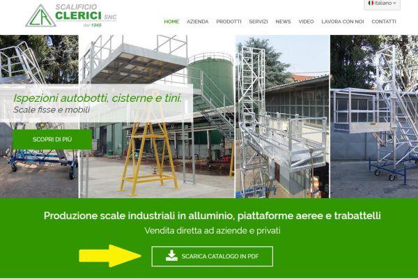 Scalificio Clerici s.n.c. - Nuovo catalogo prodotti 2018!