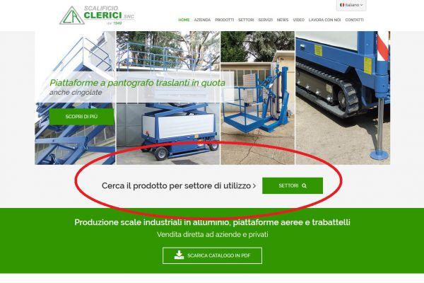 Scalificio Clerici s.n.c. - Nuovo campo di ricerca per settore!!