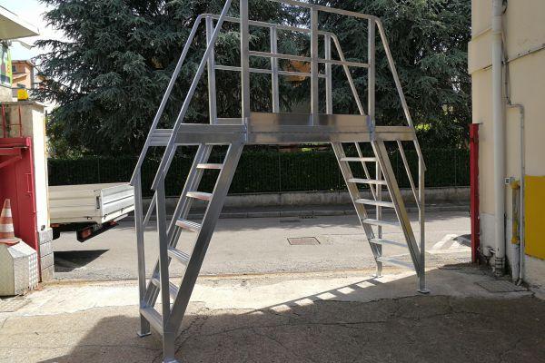 Scalificio Clerici s.n.c. - Scale in alluminio a disegno!