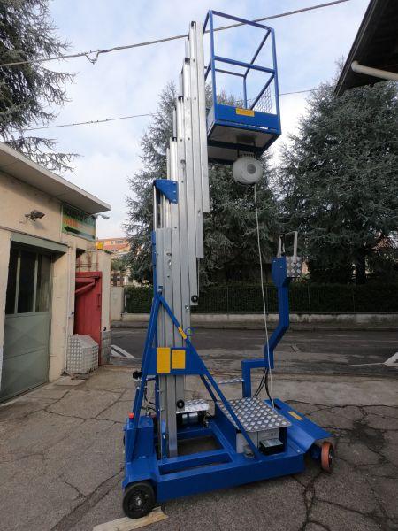 Scalificio Clerici s.n.c. - Piattaforma a sfilo verticale Mod. 10S