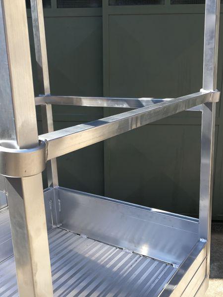 Scalificio Clerici s.n.c. - Cestello in alluminio