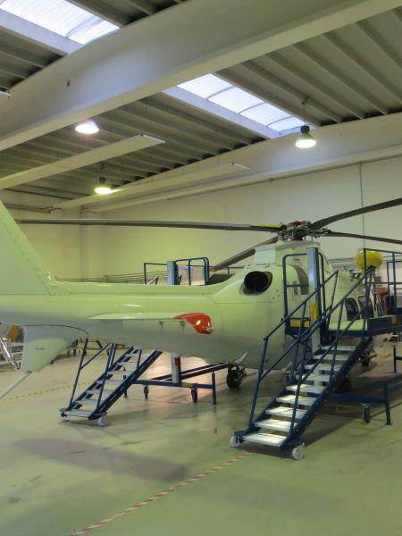 Scalificio Clerici s.n.c. - Piattaforma aerea per manutenzione Elicotteri