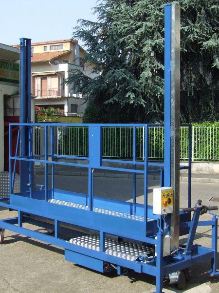 Scalificio Clerici s.n.c. - Piattaforma per manutenzione PTR